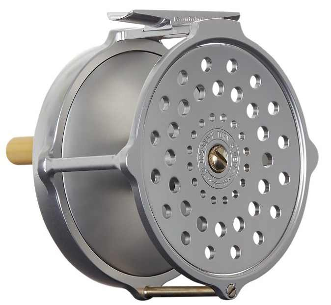 hardy bougle fly reel rear view