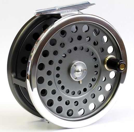 hardy marquis handle side salmon fly reel