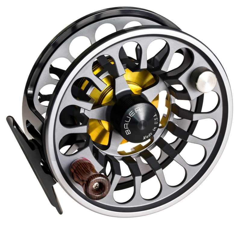 single bauer rx fly reel