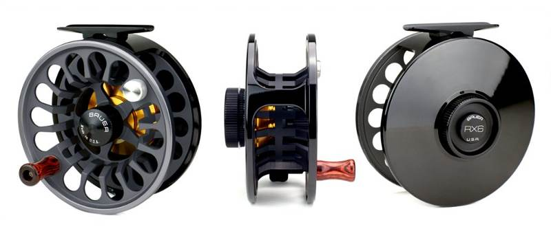 bauer rx spey fly fishing reels